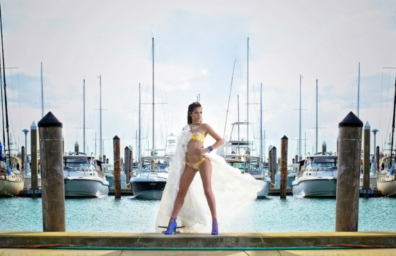 quinceanera beach cityscape photo shoot